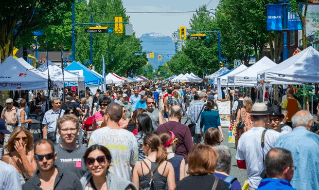 Car Free Day - Commercial Drive