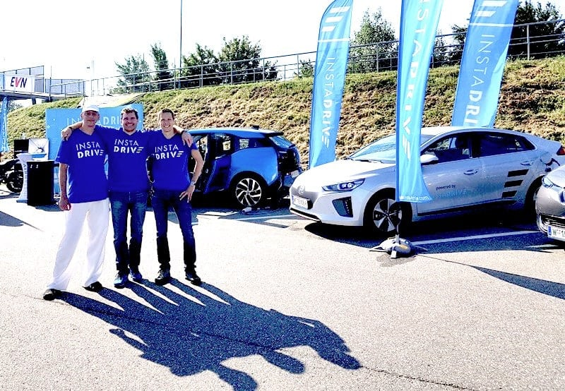 E-Mobilitätstag in Melk: Das INSTADRIVE-Team
