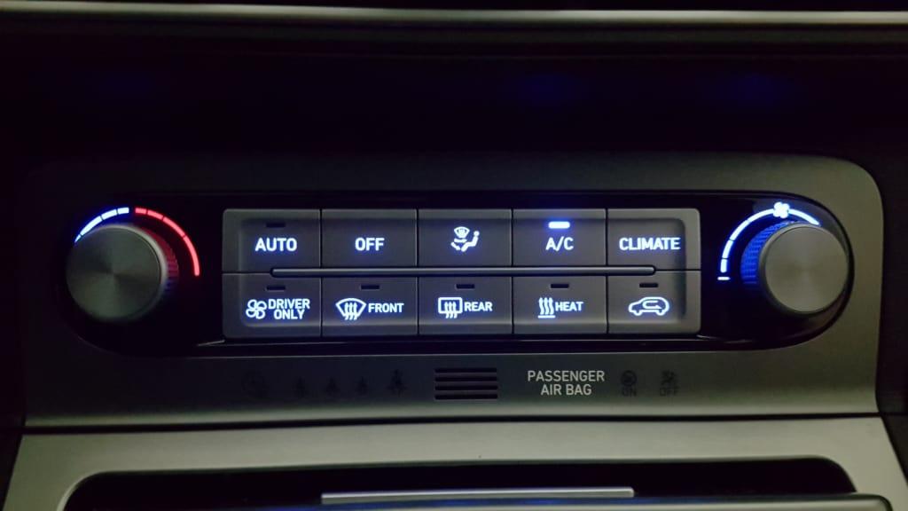 Armaturen des Hyundai Kona
