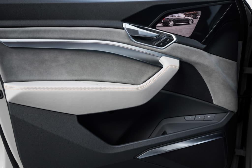 Rückfahrkameras des Audi e-tron