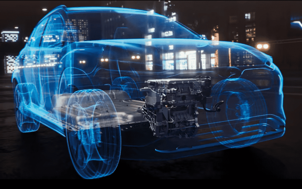 Innenansicht des Hyundai Kona Elektro