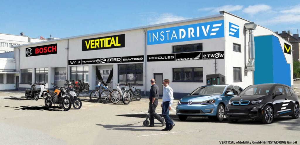Der Standort von INSTADRIVE und VERTICAL für Elektromobilität