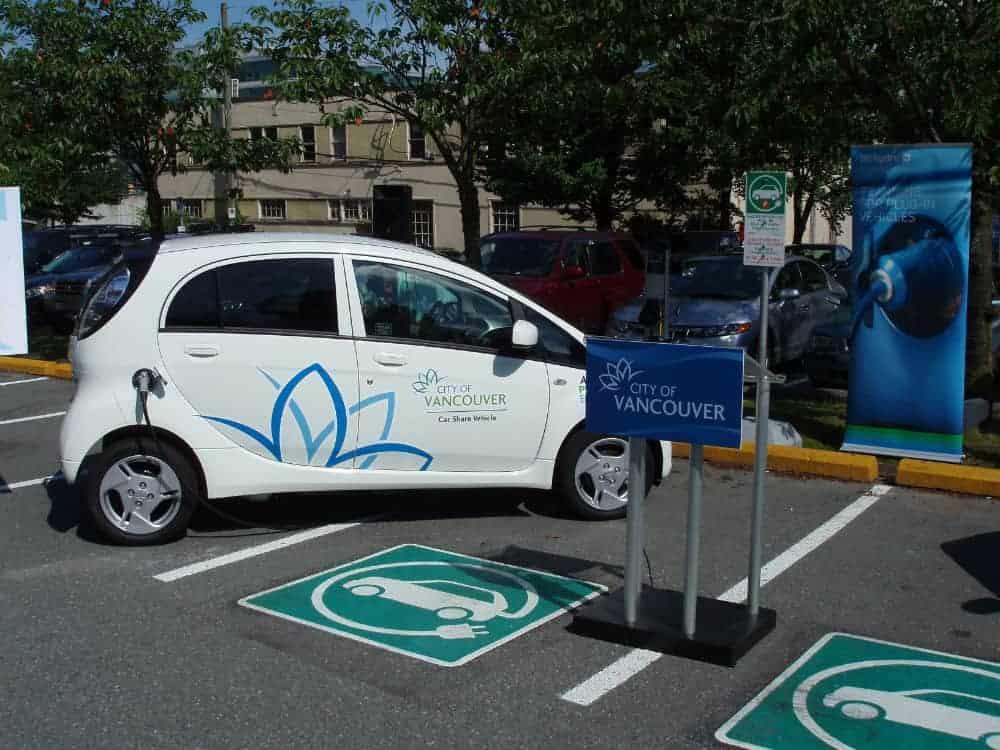 Vancouver setzt auf Elektromoblität